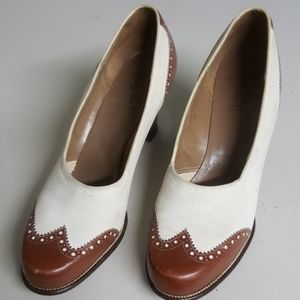 Vintage Lord Taylor Fifth Ave Loafer Block Kitten